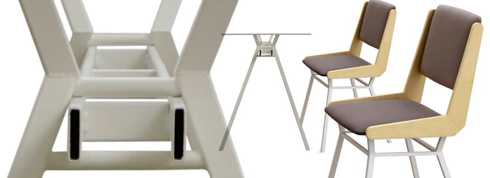 Janus Table - Equerre Chair
